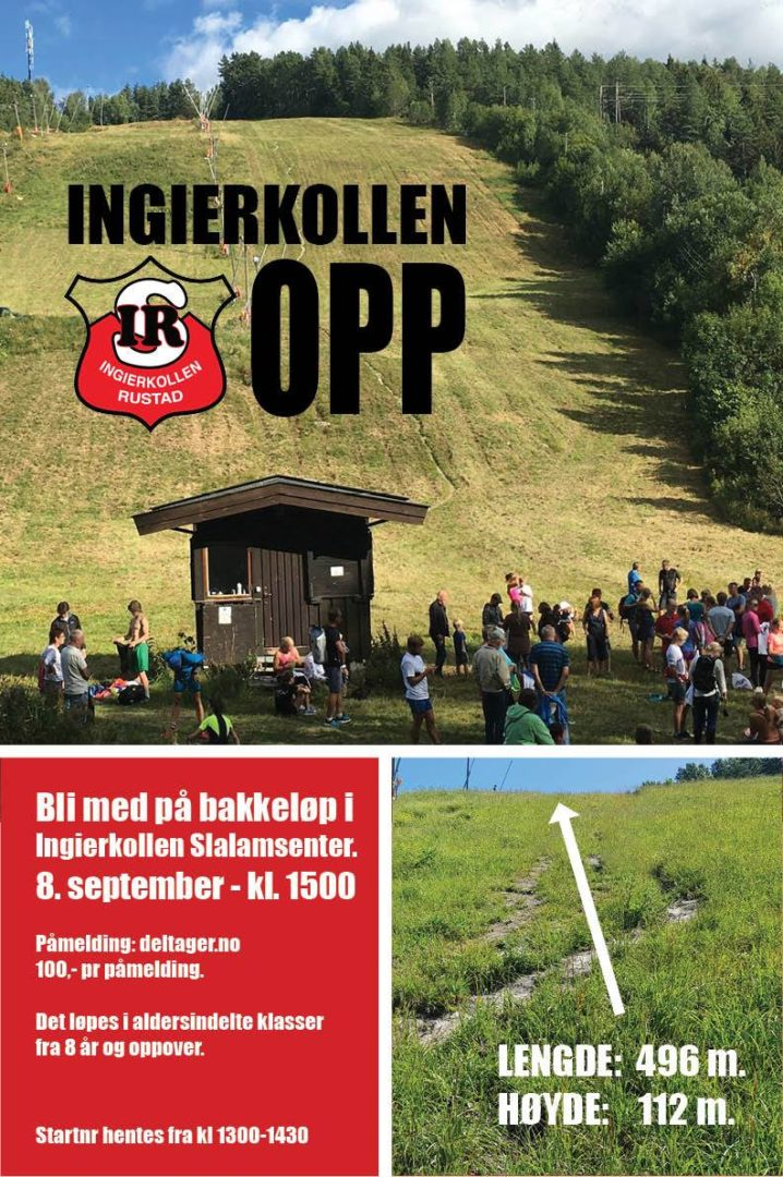 Ingierkollen Opp – 8 september 2019